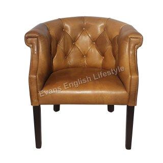 Sessel Stuhl geknöpft Leder Stoff Sonderanfertigung fertigen beziehen polstern Bert