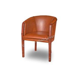 Sessel klein zierlich Stuhl Leder Stoff Sonderanfertigung fertigen beziehen polstern