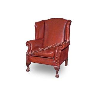 Ohrensessel Sessel geknöpft Kaminsessel Sonderanfertigung Leder Stoff fertigen beziehen polstern