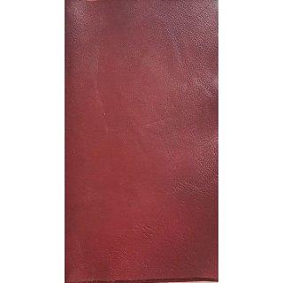 Lederfarbe Bordeaux handgefärbt antik ochsenblutrot Patina