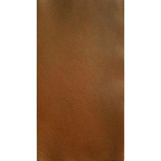 Lederfarbe Caramel handgefärbt antik Karamel
