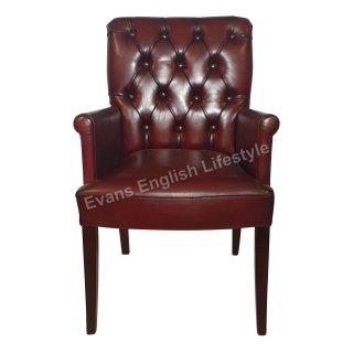 Stuhl Armlehnstuhl Sessel geknöpft Leder Stoff Sonderanfertigung fertigen beziehen polstern
