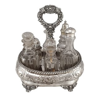Menage, Cruet Sterlingsilber London 1820