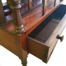 antik Zeitungsständer Palisander 1850 Canterburry...
