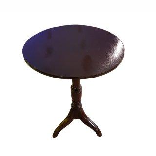 Tripod table Weintisch klappbar antik faltbar Mahagoni gedrechselt