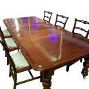 antik Esstisch Konferenztisch Mahagoni victorian Massiv...