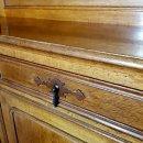 Buffet antik Welsh Dresser Anrichte mit Aufsatz Eiche ca. 1900