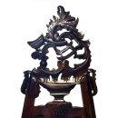 Staffelei aufwendig geschnitzt Rococco Stil Mahagoni