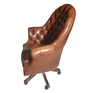 Chefsessel Leder Directors Chair Chesterfield 50 Jahre