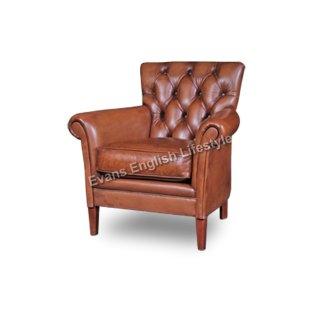 Lounge Sessel geknöpft Leder Stoff Sonderanfertigung Armlehnstuhl fertigen beziehen polstern
