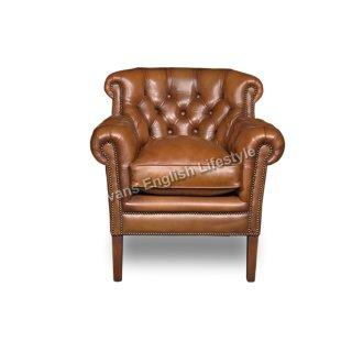 Lounge Sessel Sonderanfertigung geknöpft Leder Stoff fertigen beziehen polstern