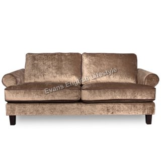 Larry Sessel & Sofa in Leder oder Stoff
