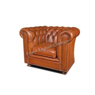 - Sessel in Leder