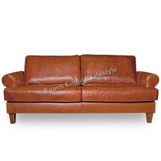 - Sofa 2,5-SItzer (Breite 174cm) - in Leder