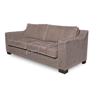 - Sofa 3-Sitzer (Breite 205cm) - in Leder