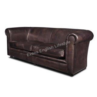 - Sofa 3-Sitzer (Breite 214cm) - in Leder